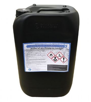MULTICRETE  BLACK BITUMEN PAINT 25L